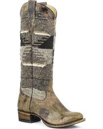 "Stetson Women's 15"" Tahoe Aztec Western Boots, , hi-res"