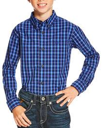 Ariat Boys' Multi Owensville Long Sleeve Shirt , , hi-res