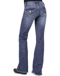 Stetson Women's 816 Classic Fit Embellished Bootcut Jeans, , hi-res