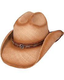 Bullhide Women's Trailboss Straw Hat, , hi-res