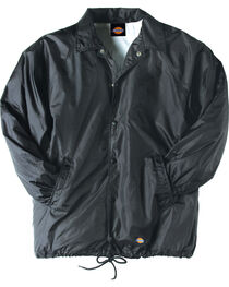 Dickies Snap Front Nylon Jacket - Big & Tall, , hi-res