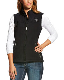 Ariat Women's Team Softshell Vest, , hi-res