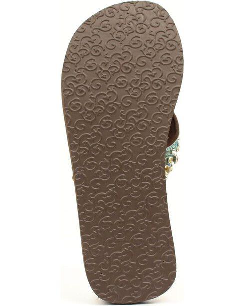 Blazin Roxx Desinie Flip Flops, Brown, hi-res