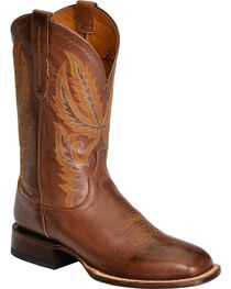 Lucchese Men's Rhett Broad Square Toe Western Boots, , hi-res