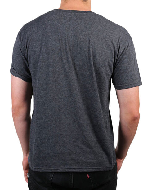 Brothers & Arms Men's Rebel With A Cause Graphic Tee, Charcoal, hi-res