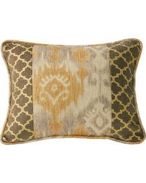 HiEnd Accents Casablanca Ikat & Ogee Pillow, , hi-res