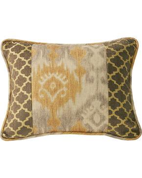 HiEnd Accents Casablanca Ikat & Ogee Pillow, Multi, hi-res