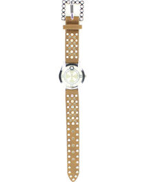 Heart Cutouts & Rhinestones Watch, , hi-res