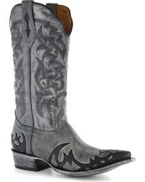 Moonshine Spirit Men's Snip Toe Western Boots, , hi-res