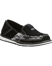 Ariat Women's Black Lace Cruiser Shoes - Moc Toe, , hi-res