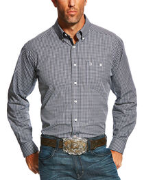 Ariat Men's Colt Checkered Long Sleeve Shirt , , hi-res