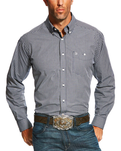 Ariat Men's Colt Checkered Long Sleeve Shirt , Multi, hi-res