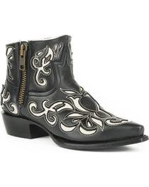 Stetson Women's Ivy Laser Cut Western Boots - Snip Toe, , hi-res