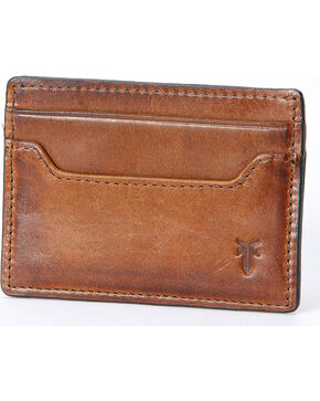 Frye Men's Logan Antique Pull-Up Card Holder , Cognac, hi-res