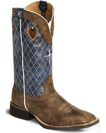 "Twisted X Men's Ruff Stock 12"" Western Boots, , hi-res"