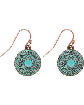 Shyanne® Women's Western Earrings   , Turquoise, hi-res