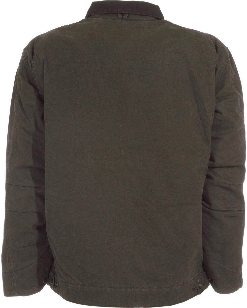 Berne Original Washed Gasoline Jacket, Olive Green, hi-res