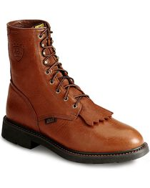 Ariat Men's Cascade Steel Toe Work Boots, , hi-res