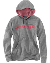 Carhartt Extremes® Women's Force Signature Graphic Hooded Sweatshirt, , hi-res
