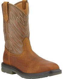 Ariat Men's Maverick Square Toe WP CT Western Work Boots, , hi-res