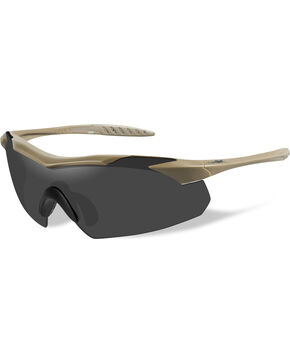 Wiley X Vapor Grey Tan Sunglasses  , Tan, hi-res