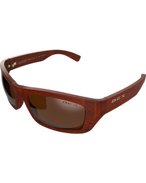 Bex Men's Ghavert Polarized Brown/Amber Sunglasses, Grey, hi-res