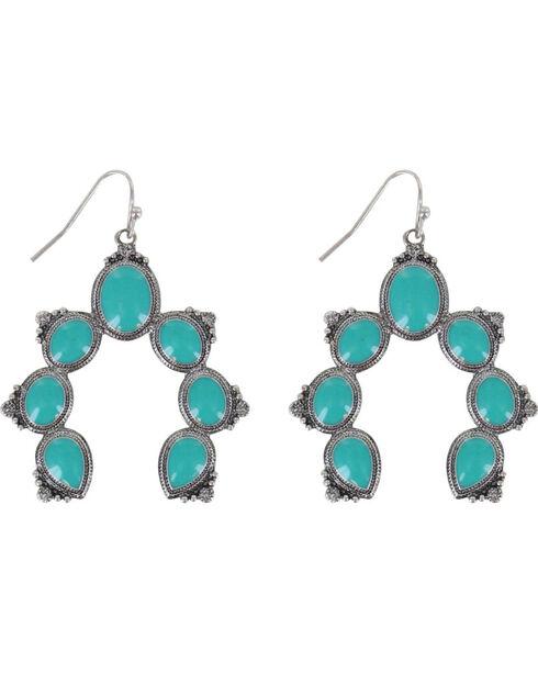 Shyanne® Women's Concho Earrings  , Turquoise, hi-res