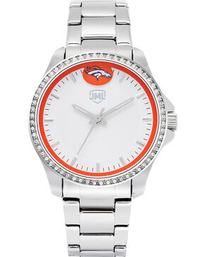 Jack Mason Women's Denver Glitz Sport Watch , Silver, hi-res