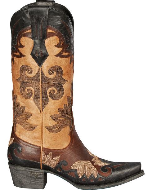 Lane Women's Maggie Western Fashion Boots, Brown, hi-res