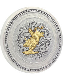 Montana Silversmiths New Traditions Bull Rider Snuff Lid, , hi-res