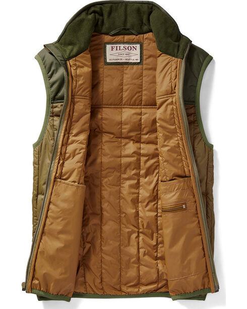 Filson Men's Olive Ultra-Light Vest , Olive, hi-res