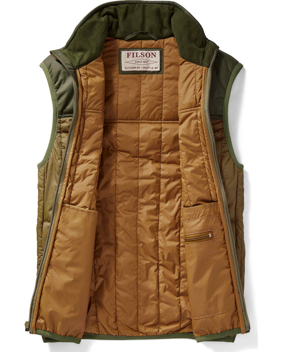 Filson Men's Field Olive Ultra-Light Vest , Olive, hi-res
