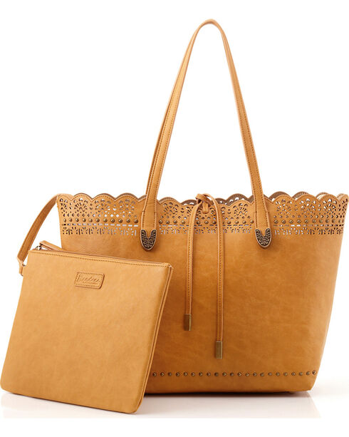 Bandana by American West Darlington Collection Day Tote, Tan, hi-res