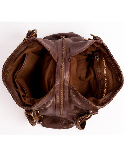 STS Ranchwear Chocolate Maggie Mae Handbag , Chocolate, hi-res