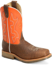 "Double H Men's 11"" Composite Square Toe Western Work Boots, , hi-res"