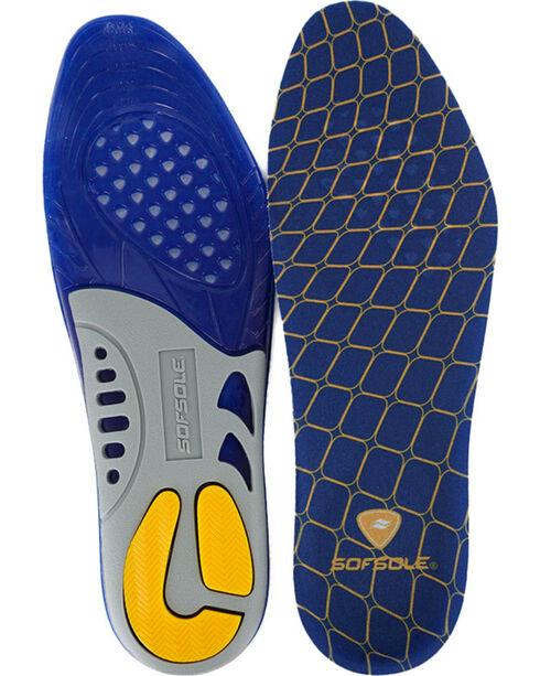 Sof Sole® Men's Gel Support Insoles, Blue, hi-res