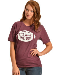"ATX Mafia ""It's What We Do"" Maroon Tee, , hi-res"