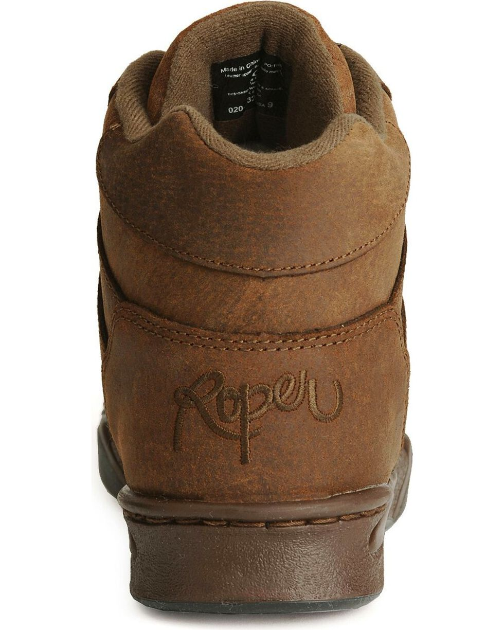 Roper Men's Chipmunk HorseShoes Classic Original Boots, Tan, hi-res