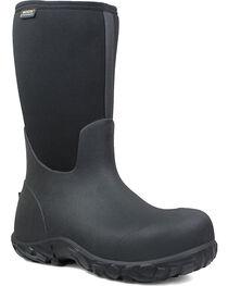 Bogs Men's Black Workman Waterproof Work Boots - Composite Toe , , hi-res