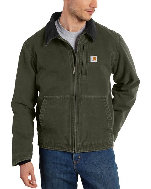Carhartt Men's Moss Full Swing Armstrong Jacket - Tall , Moss Green, hi-res