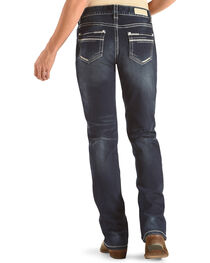 Rock & Roll Cowgirl Women's Blue Boyfriend Jeans - Boot Cut , , hi-res