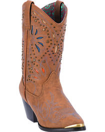 "Dingo Women's 10"" Studded Fashion Boots, , hi-res"
