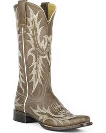 Stetson Women's Jordan Grey Horick Western Boots - Square Toe, , hi-res