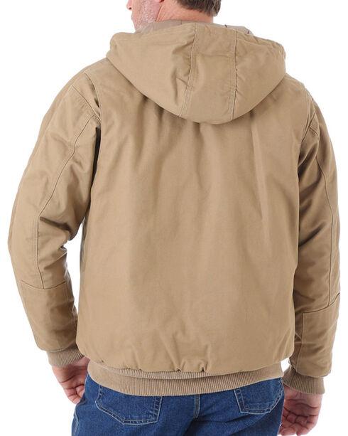 Wrangler Men's Brown Riggs Workwear Utility Jacket - Tall , Brown, hi-res