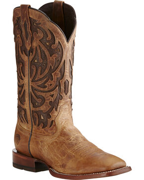 Ariat Men's Wildfire Dusted Wheat Professional Leather Western Boots, Wheat, hi-res