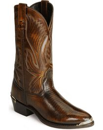 Laredo Men's New York Lizard Print Western Boots, , hi-res