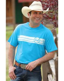 Cinch Men's Turquoise Short Sleeve Tee , , hi-res