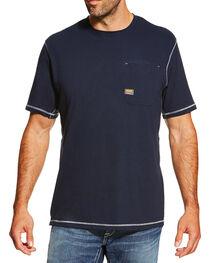 Ariat Men's Rebar SPF Short Sleeve Shirt, , hi-res