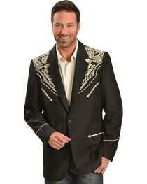 Scully Men's Floral Embroidered Blazer, , hi-res