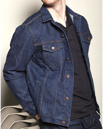 Kimes Ranch Indigo Denim Jacket , , hi-res